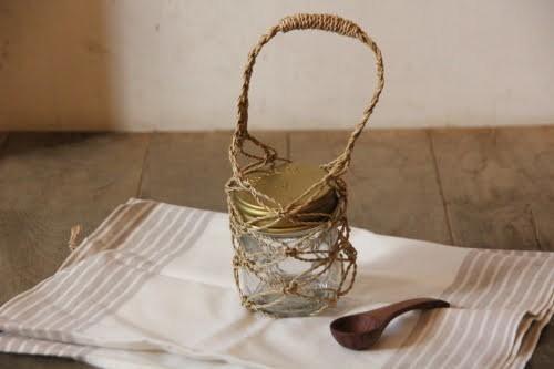 カチュー水草で編んだメッシュバッグのミニサイズ
